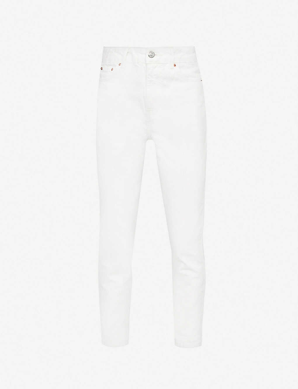 TOPSHOP: High-rise tapered mom jeans