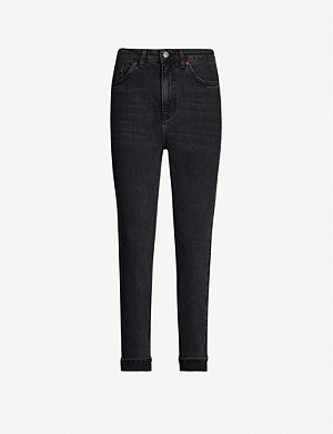 TOPSHOP Mom tapered high-rise jeans