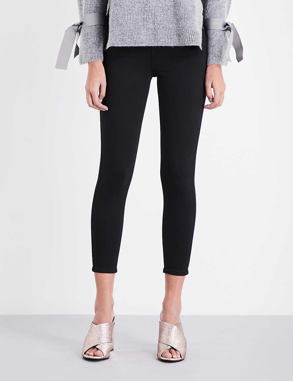 c23317330ea Jamie skinny high-rise jeans - Black ...