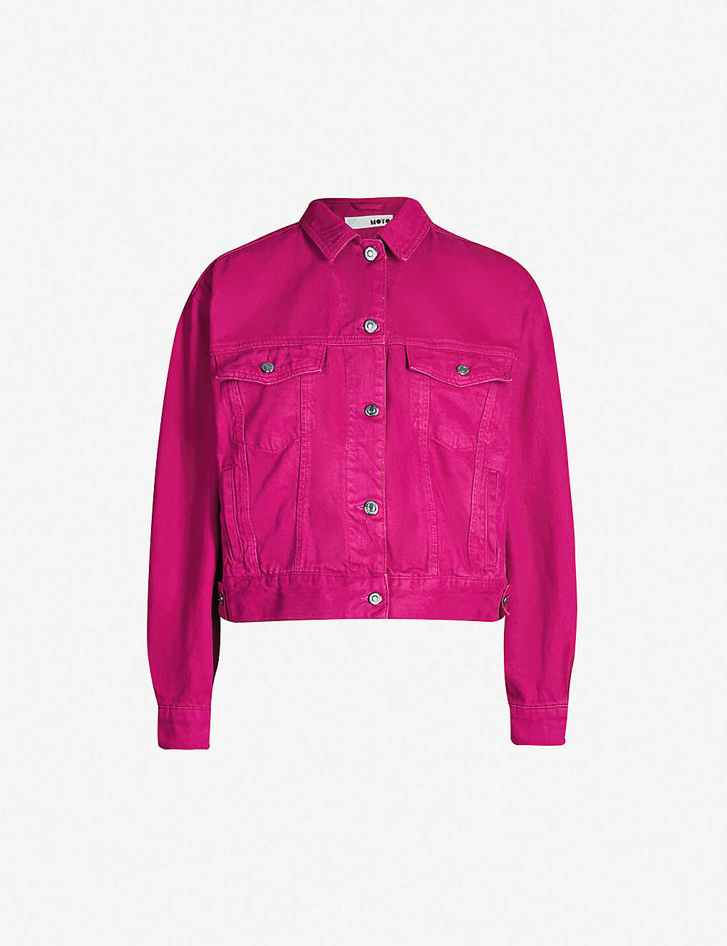 33596f0bbc8 TOPSHOP - Cassis boxy-fit denim jacket | Selfridges.com