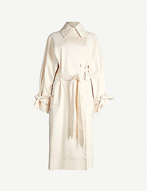 f9f0138191 TOPSHOP Ultimate cotton-blend trench coat