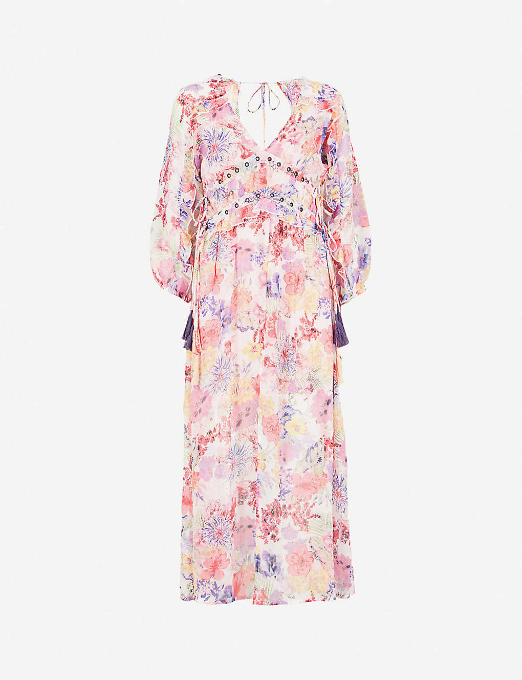 76b0d476a8b Wispy Floral Print Midi Dress - Gomes Weine AG
