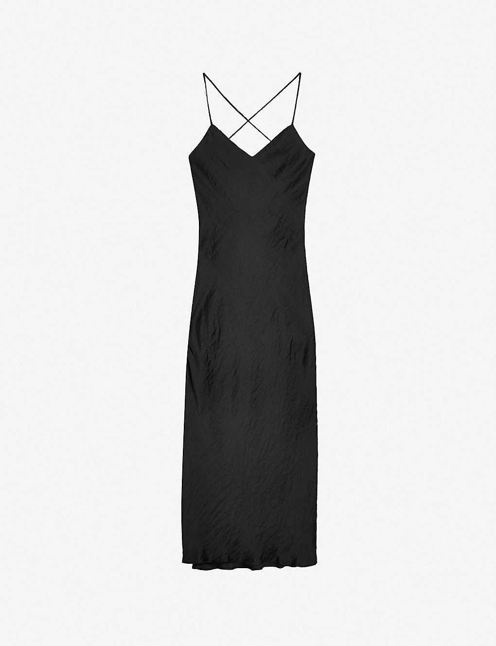 5ca869afda8f TOPSHOP - Satin midi slip dress | Selfridges.com