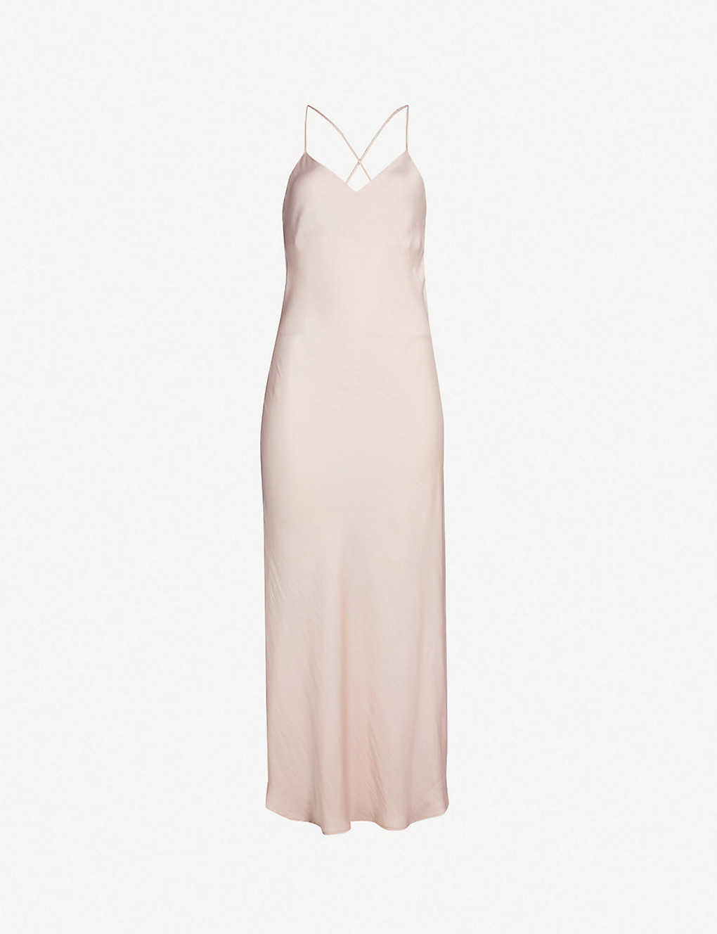 96d386da7491 TOPSHOP - Satin midi slip dress | Selfridges.com