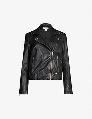 TOPSHOP Mona leather jacket