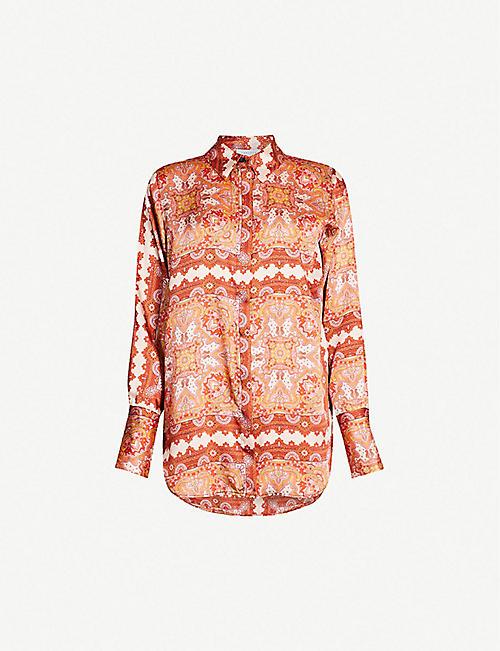 0a63132950fa2 TOPSHOP - Shirts   blouses - Tops - Clothing - Womens - Selfridges ...