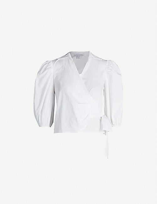 c12461480 TOPSHOP - Shirts & blouses - Tops - Clothing - Womens - Selfridges ...