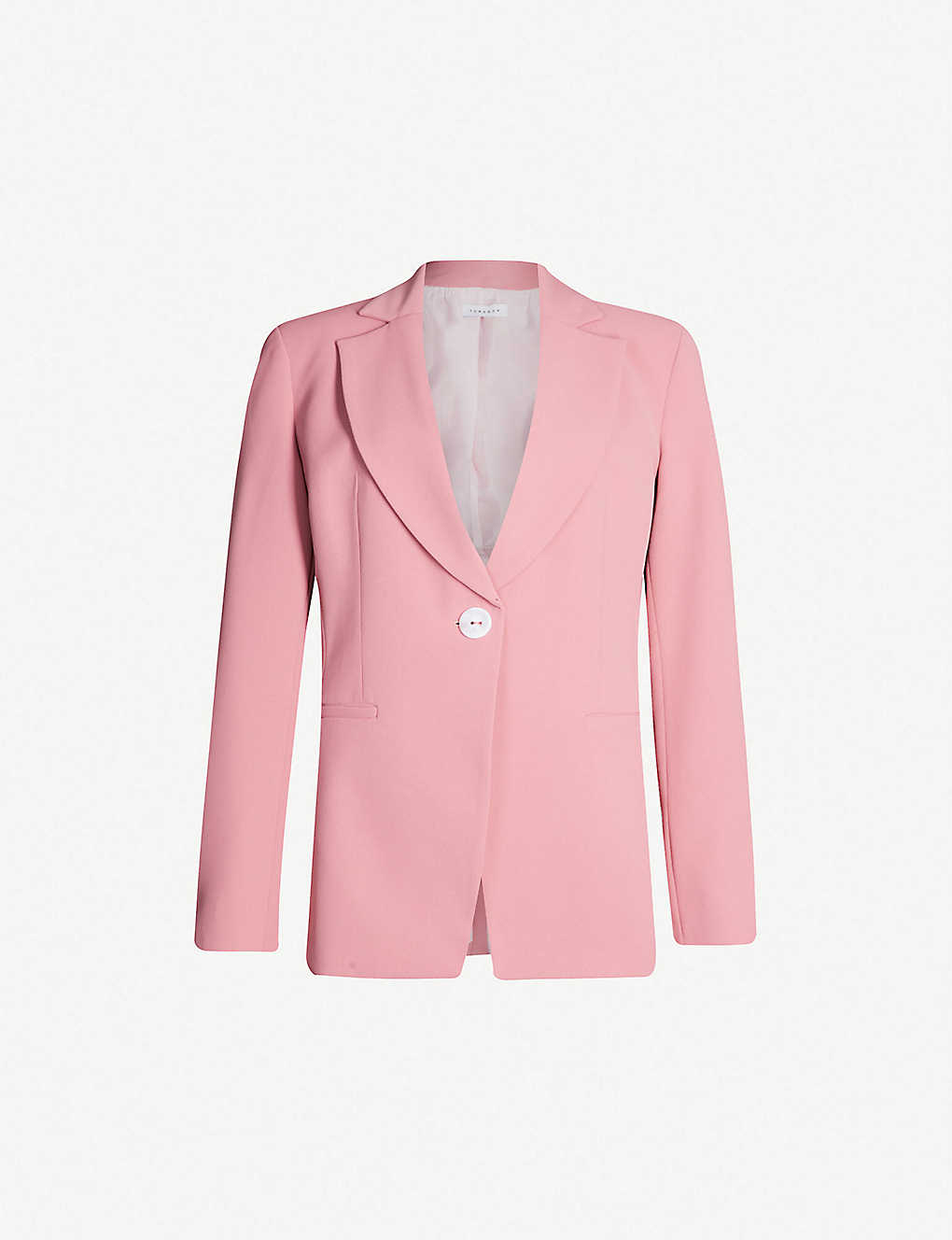 Pink Twill Blazer