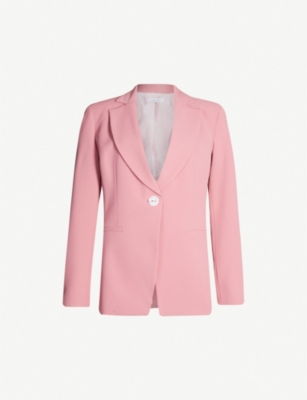 TOPSHOP Slim-fit single-breasted twill blazer