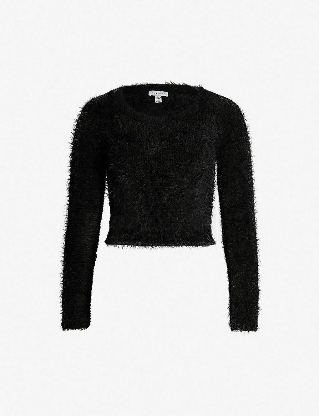 reasonable price separation shoes super cute TOPSHOP - Cropped fluffy jumper | Selfridges.com