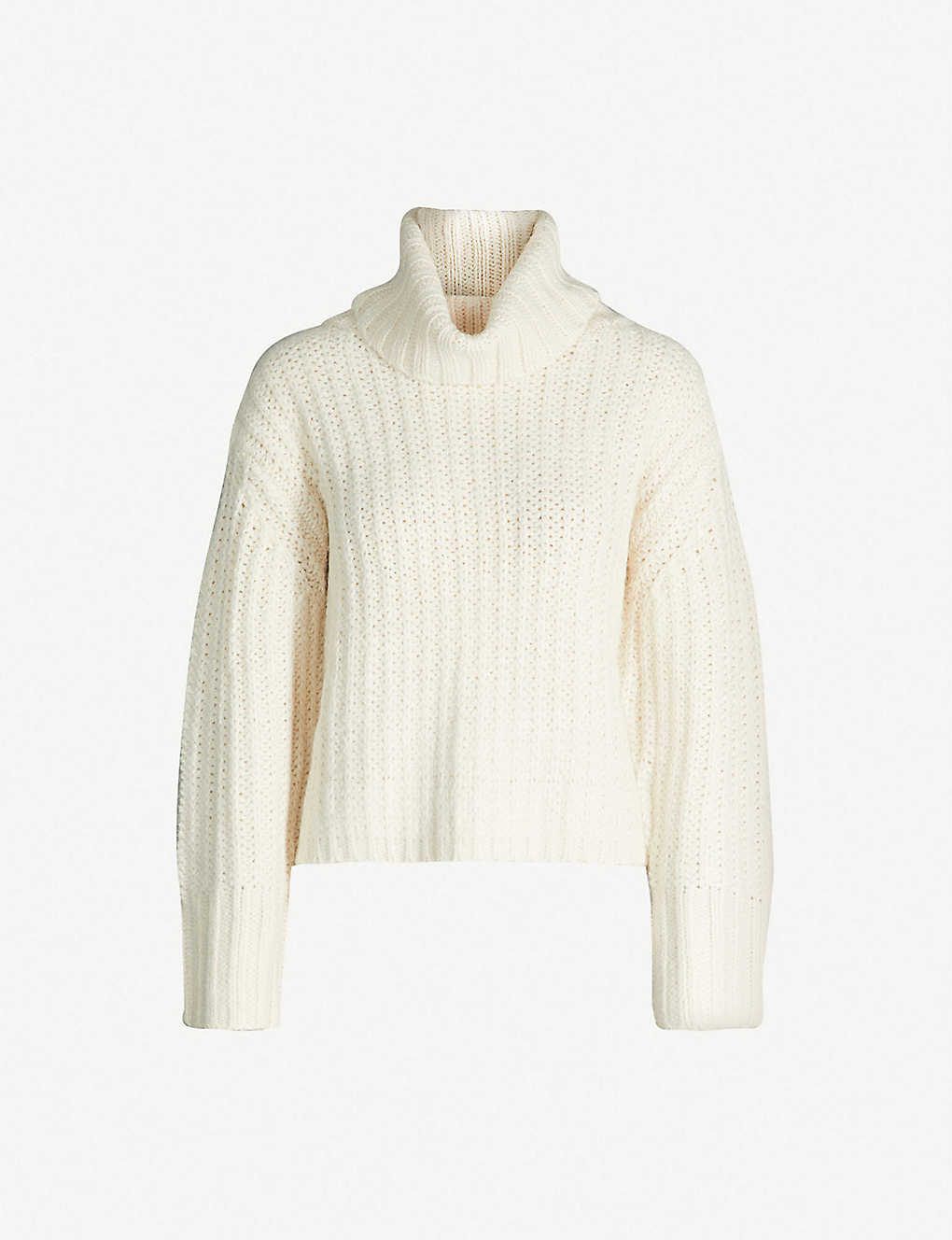 a55e387483d ... Turtleneck chunky knitted jumper zoom ...