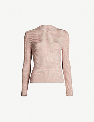 TOPSHOP Feeder knitted jumper
