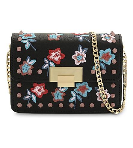 bdd43406fbee ... embroidery cross-body bag (Black. PreviousNext