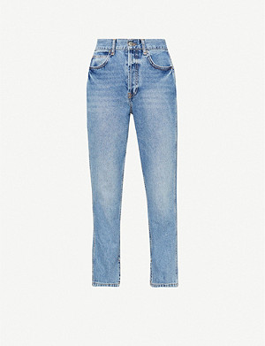 TOPSHOP Boutique tapered denim jeans