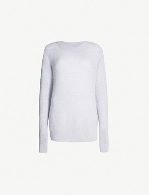 TOPSHOP Boutique cut-out knitted jumper