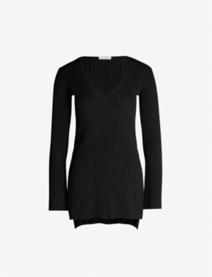 TOPSHOP Boutique longline knitted top