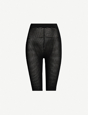 TOPSHOP Boutique high-rise knitted cycling shorts