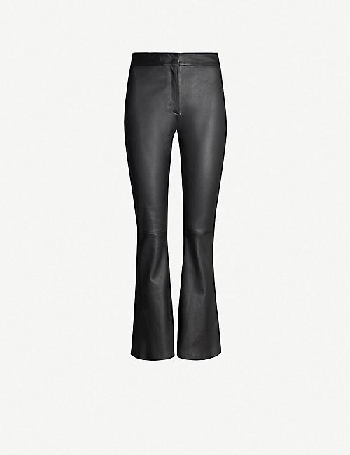 4183e7d7eb7710 Leather - Trousers - Clothing - Womens - Selfridges