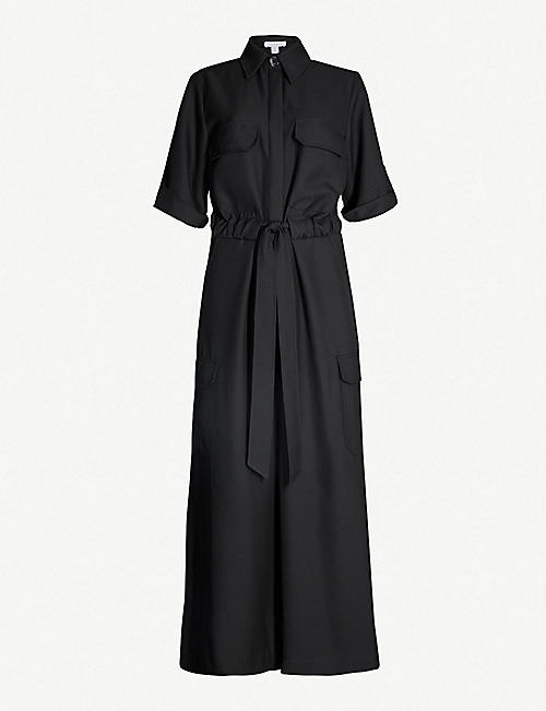 aaa151a4be TOPSHOP Boutique utility crepe jumpsuit