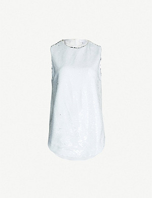 TOPSHOP Boutique Sequinned top