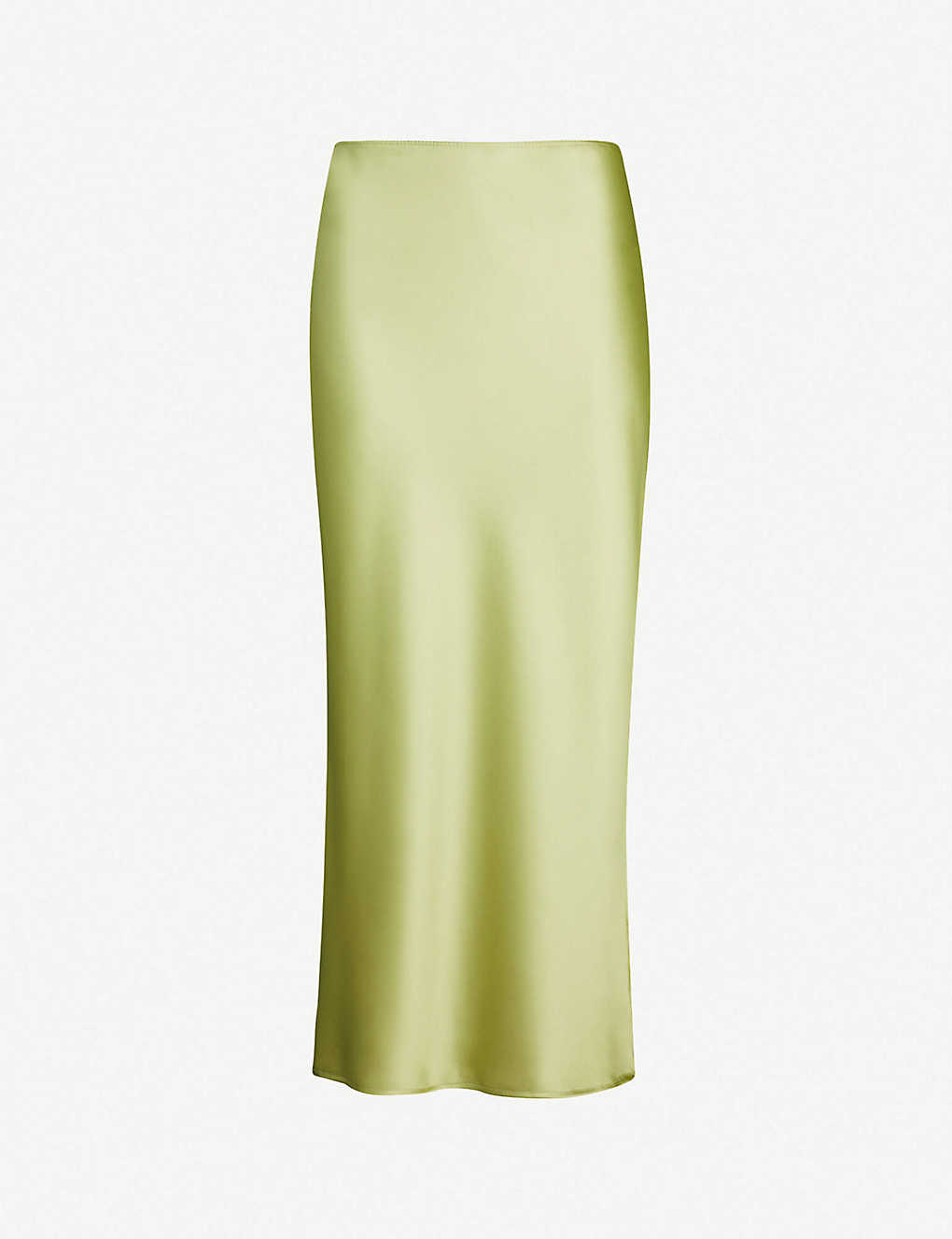 227e214cb TOPSHOP - Split-side satin midi skirt | Selfridges.comm