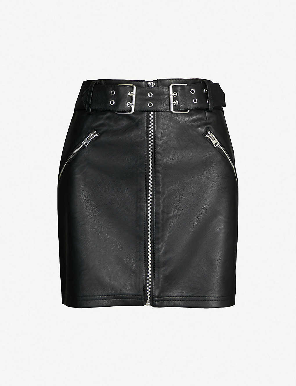 a9a892a581 TOPSHOP - Beatrix faux-leather skirt | Selfridges.com