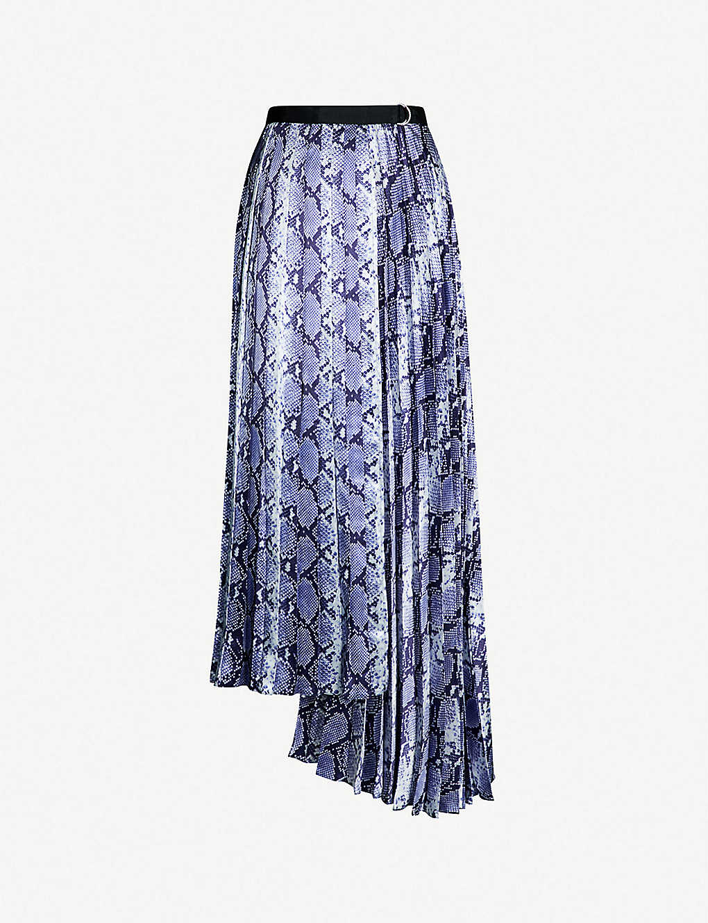 enjoy best price select for official popular style Snake-print satin maxi skirt