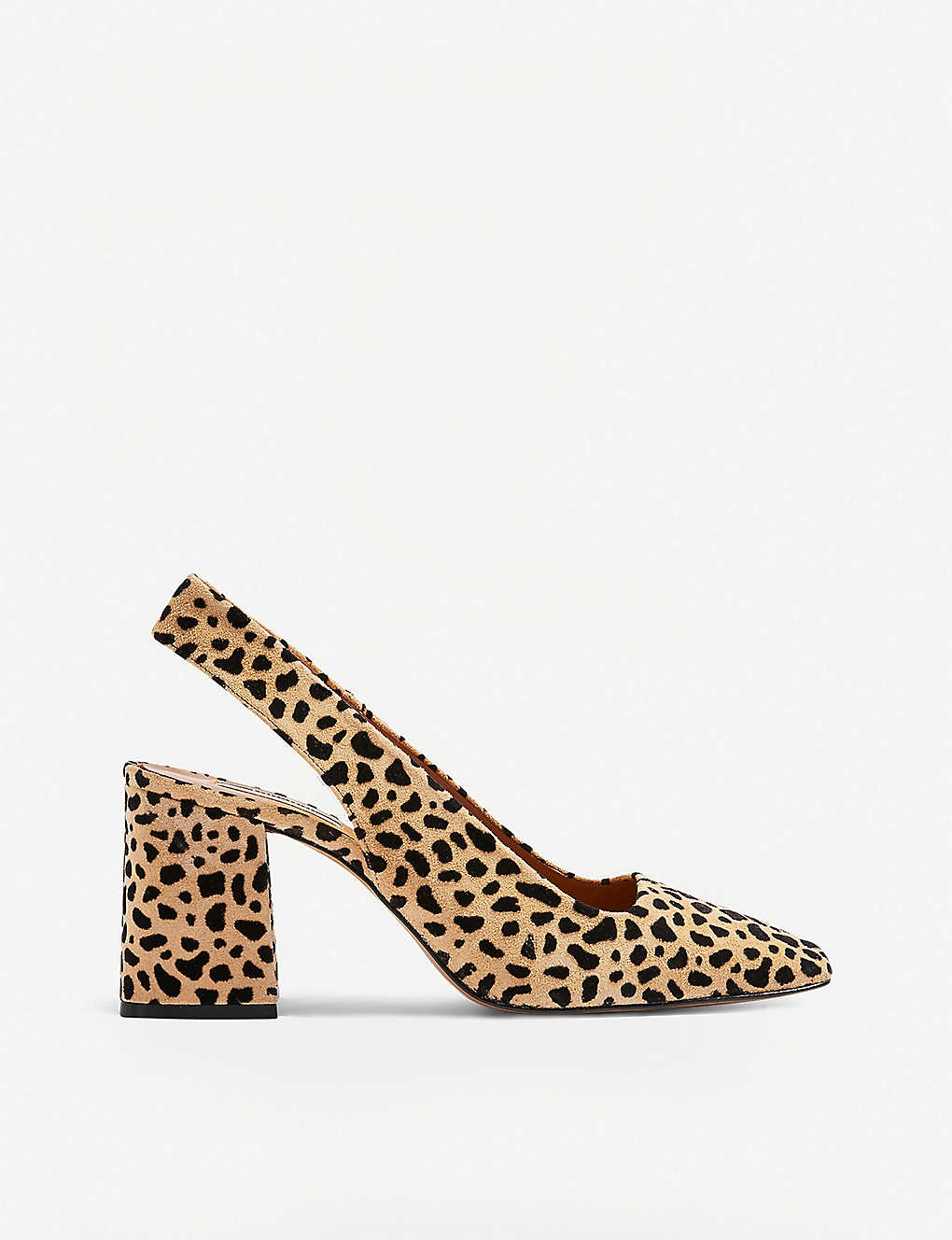 fa09720baf6f TOPSHOP - Gainor leopard-print leather courts | Selfridges.com