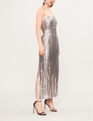 b89529bd TOPSHOP - Boutique sequinned bandeau dress | Selfridges.com