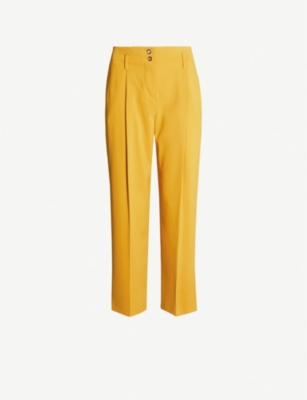 TOPSHOP Percy Peg crepe trousers