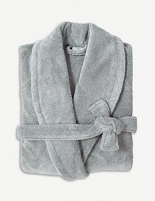 YVES DELORME Étoile large terry bath robe