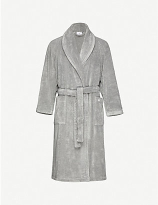 YVES DELORME: Étoile medium terry bath robe