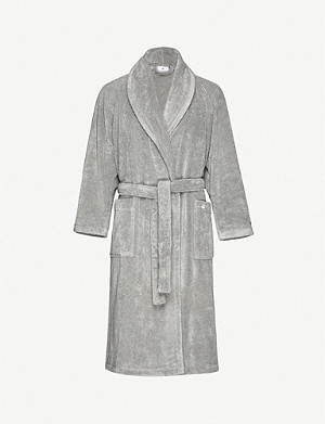 YVES DELORME Étoile medium terry bath robe