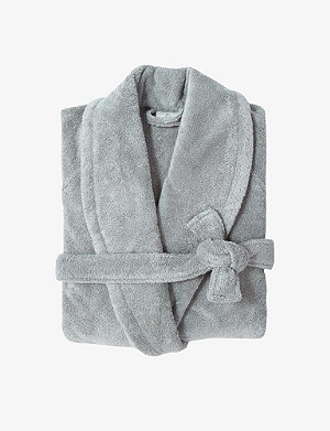 YVES DELORME Étoile small terry bath robe