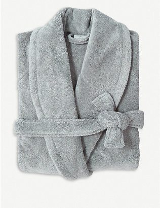 YVES DELORME: Étoile extra large terry bath robe