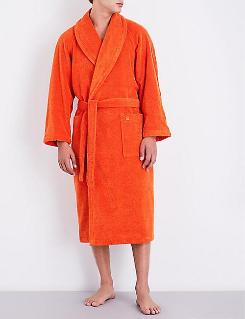 a4627e1ac5 YVES DELORME Etoile self-tie cotton-blend bath robe. Quick view Wish list