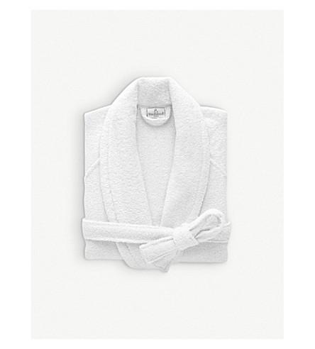57aa166dde ... YVES DELORME Etoile cotton-blend robe (Blanc. PreviousNext
