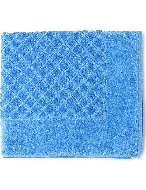 YVES DELORME ?toile cotton bath mat