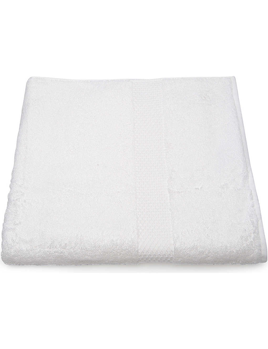 YVES DELORME: Etoile hand towel white