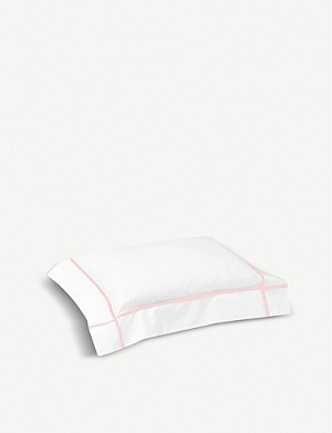 YVES DELORME Athena cotton boudoir pillowcase