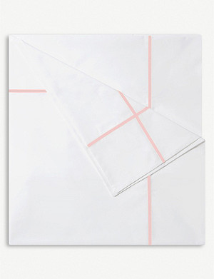 YVES DELORME Athena cotton flat bed sheet