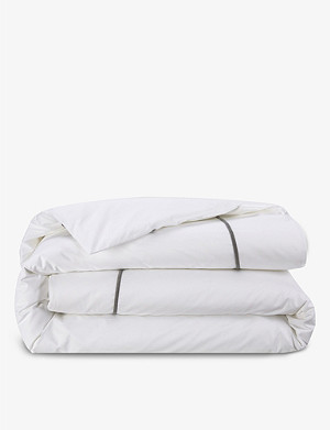YVES DELORME Athena super king duvet cover