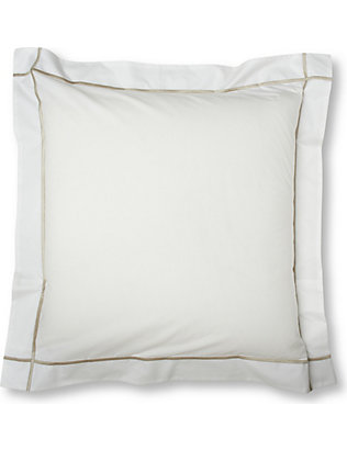 YVES DELORME: Athena square pillowcase 65x65cm