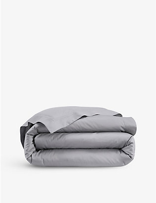 YVES DELORME: Triomphe cotton duvet cover