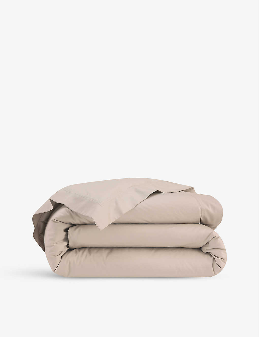 YVES DELORME: Triomphe cotton-sateen duvet cover