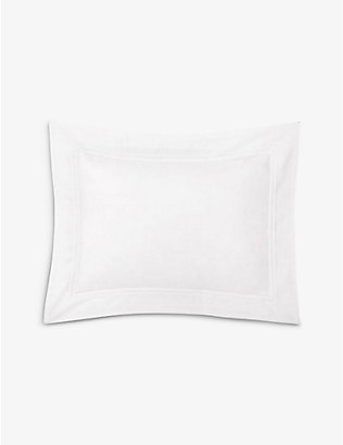 YVES DELORME: Triomphe cotton pillowcase