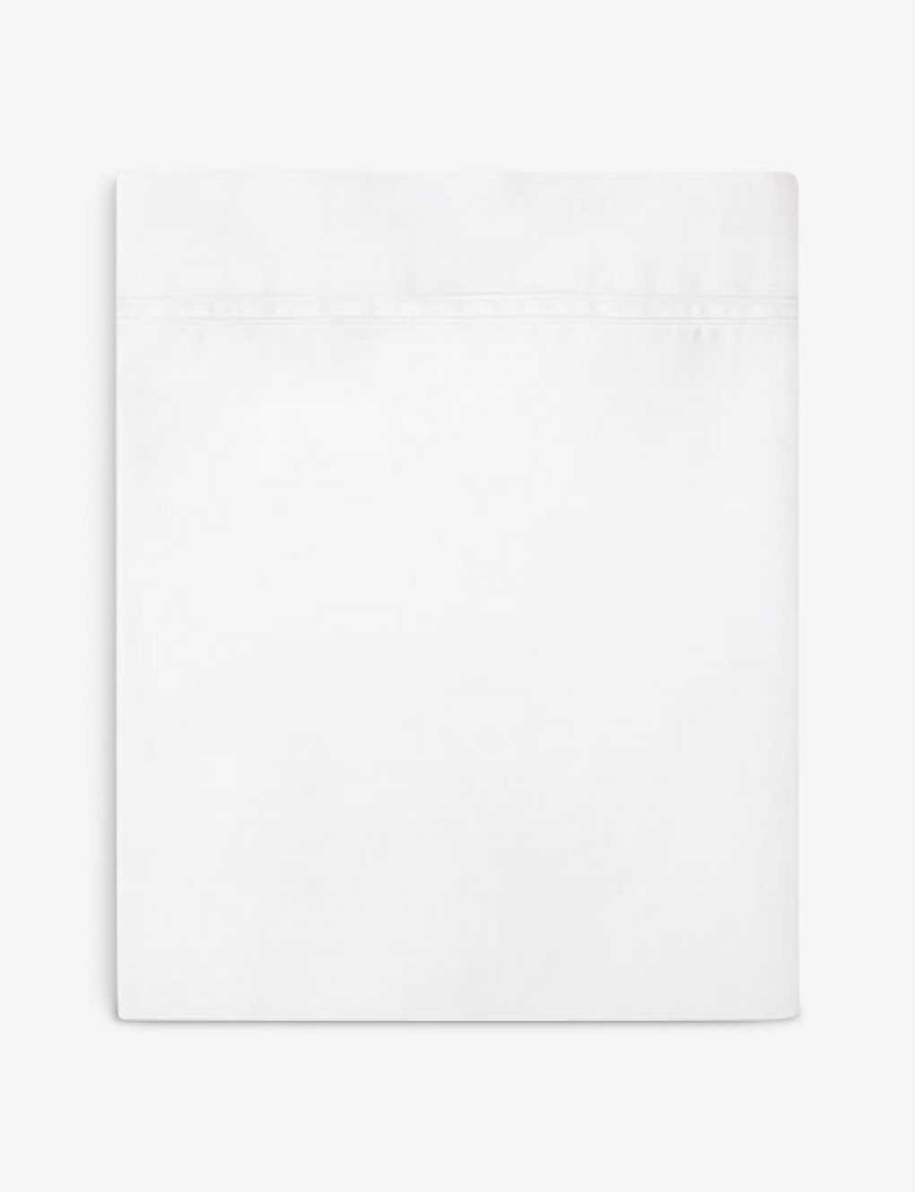YVES DELORME: Triomphe cotton flat sheet