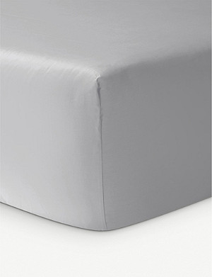 YVES DELORME Triomphe cotton fitted sheet