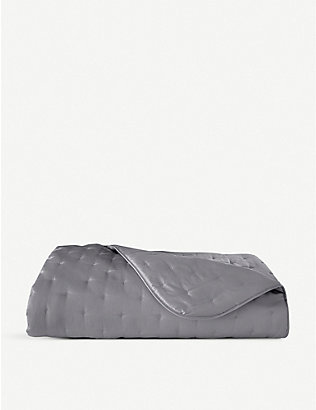 YVES DELORME: Triomphe bed cover throw 275x260cm