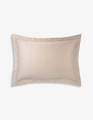 YVES DELORME: Triomphe pierre king pillow case 90cm x 50cm